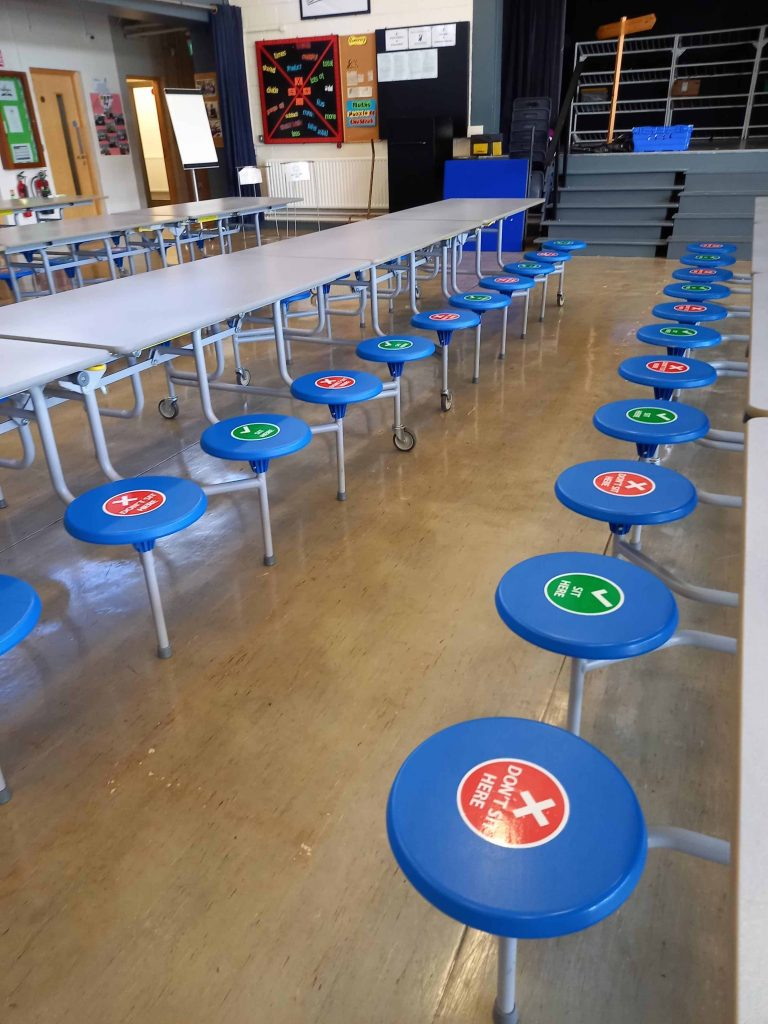 Bailieborough School Seat stickers